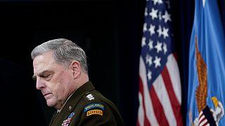 رئيس هيئة الأركان المشتركة في الجيش الأمريكي مارك ميلي