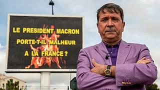 Afişin sahibi Michel-Ange Flori