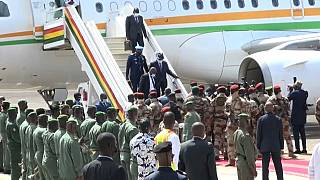 Ivorian President in Conakry to meet with Guinea's junta