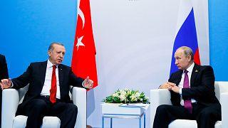 Cumhurbaşkanı Recep Tayyip Erdoğan // Rusya lideri Vladimir Putin (arşiv)