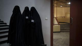في إحدى جامعات كابول (سبتمبر 2021)