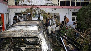 حمله پهپادی آمریکا به خودرویی در کابل