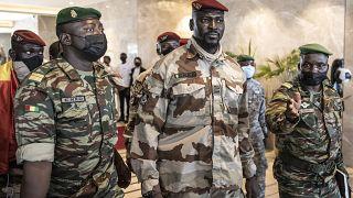 Guinea: Protest against ECOWAS resolutions