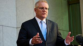 Il Primo ministro australiano, Scott Morrison