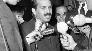Former Algerian president dead at 84