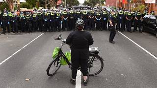 احتجاجات في أستراليا ضد الإغلاق