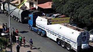 ورود کامیونهای حامل سوخت ایران به لبنان