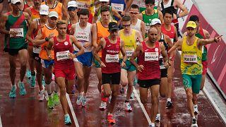 Tokyo 2020 Paralimpik Oyunlarından bir kare