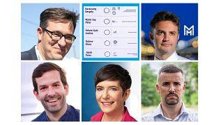 Az ellenzéki előválasztás miniszterelnökjelölt-aspiránsai és a szavazólap