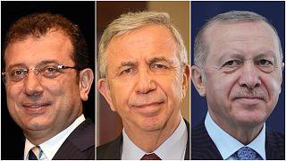 Ekrem İmamoğlu, Mansur Yavaş, Recep Tayyip Erdoğan