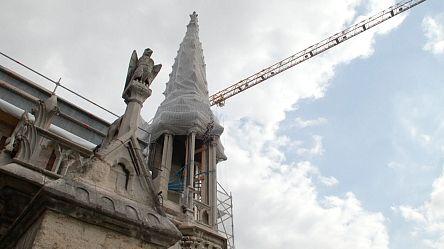 Paris: Notre-Dame now stable enough for rebuilding