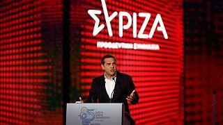 Ο Αλέξης Τσίπρας στη Θεσσαλονίκη στο πλαίσιο της 85ης ΔΕΘ