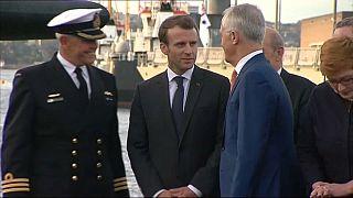 Emmanuel Macron en mai 2018 en Australie