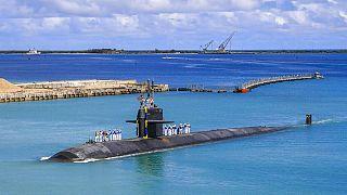 Le sous-marin américain  USS Oklahoma City