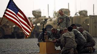 Afganistan'da Amerikalı askerler