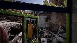 حمله پهپادی اشتباه آمریکا در افغانستان