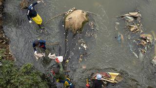 Afrique du Sud : Journée mondiale du nettoyage dans un quartier de Johannesburg