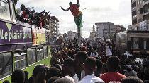 Guinée : retour d'exil de militants du FNDC