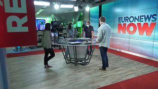 Plató de Euronews