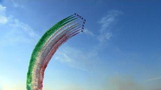 Italian national acrobatic patrol - the Tricolour Arrows.