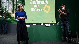 Annalena Barbock und Co-Parteichef Robert Habeck