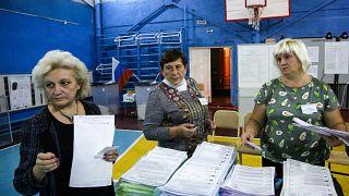 В России прошли выборы в Госдуму.