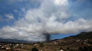 La Palma Adası'nda volkan patlaması alarmı