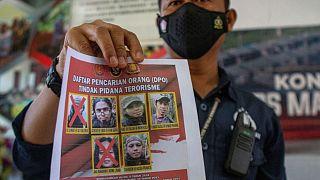 پلیس اندونزی کشته شدن دو فرمانده مجاهدین اندونزی شرقی را تایید کرد