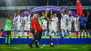 Türkiye Milli Ampute Futbol Takımı, finalde İspanya'yı 6-0 mağlup etti
