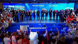 Erreicht Putin-Partei absolute Mehrheit? Kommunisten legen zu