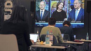 Германия: основные кандидаты на пост канцлера провели финальные теледебаты