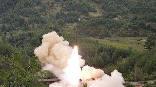 صورة نشرتها وسائل إعلام حكومية في كوريا الشمالية