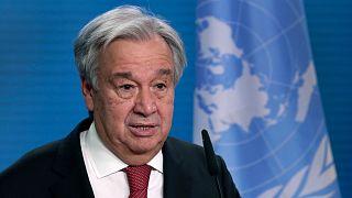 آنتونی گوترش، دبیر کل سازمان ملل متحد