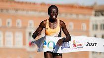 Triomphes kenyans au marathon de Rome