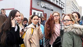 Tiroteio na Universidade de Perm na Rússia