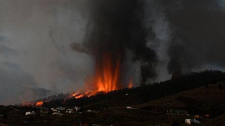 Volcano erupts on Spain's island of La Palma