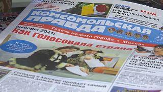 Ρωσία: Έκπληξη από την άνοδο του Κομμουνιστικού Κόμματος στις εκλογές