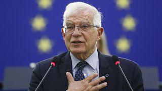 كبير الدبلوماسيين الأوروبيين، الإيطالي جوزيب بوريل