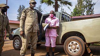 Paul Rusesabagina il y a un an, à Kigali