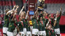 Rugby à 7 : les Blitzboks sud-africains renouent avec la victoire