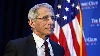كبير خبراء الأمراض المعدية في الولايات المتحدة لأمريكية أنتوني فاوتشي، في واشنطن، 29 يناير 2016