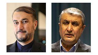 محمد اسلامی و حسین امیرعبداللهیان