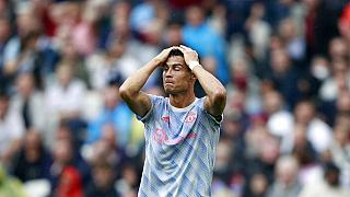 Hat gerade wieder zu Manchester United gewechselt: Portugals Star Cristiano Ronaldo