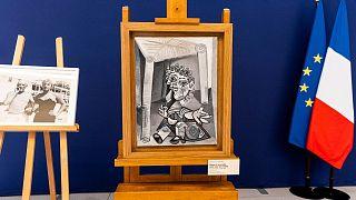 یکی از آثار پابلو پیکاسو که به فرانسه اهداء شد