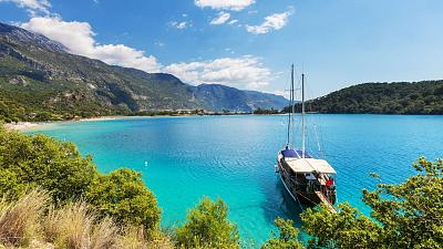 The beaches in Turkey are magnificent