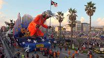 Viareggio carnival returns after COVID delay