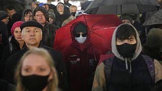 Протесты в Москве.
