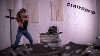 Rage Room in Helsinki