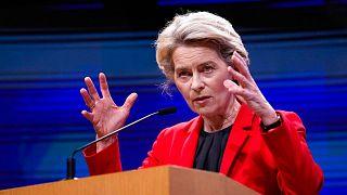اورزولا فن درلاین، رئیس کمیسیون اتحادیه اروپا