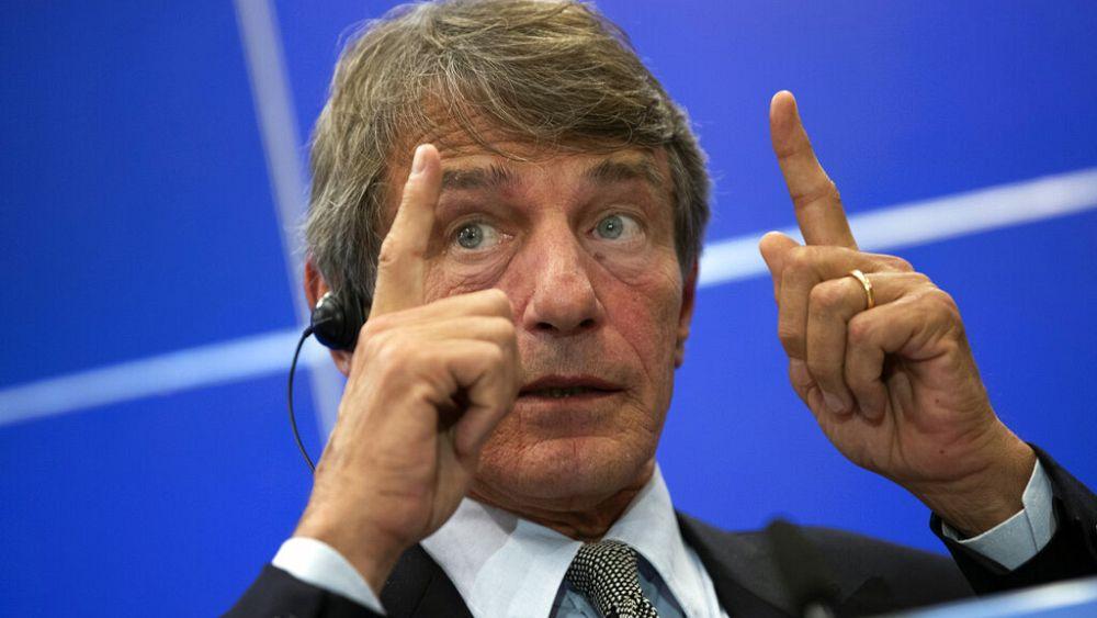 Presiden Parlemen Uni Eropa David Sassoli di rumah sakit dengan pneumonia